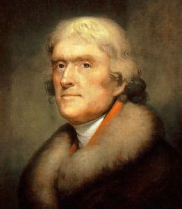 Thomas Jefferson by Rembrandt Peale 1805