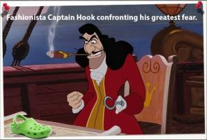 Fashionista Captain Hook