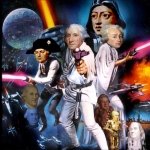How can I really caption this without expressing the sheer delight it was to create. While Washington looks like a natural fit a Luke Skywalker, Hamilton as C3PO works for me on so many levels.